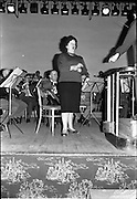 19/06/1963.06/19/1963.19 June 1963.Madame Astrid Varnay rehearsing with the Radio Eireann Symphony Orchestra at Francis Xavier Hall, Dublin.