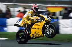 JAMIE ROBINSON DUCATI, WSB World Superbike Championship Donington May 1998