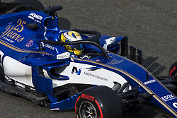 August 25, 2017 - Spa, Belgium - 09 ERICSSON Marcus from Sweden Sauber F1 using the Halo during the Formula One Belgian Grand Prix at Circuit de Spa-Francorchamps on August 25, 2017 in Spa, Belgium. (Credit Image: © Xavier Bonilla/NurPhoto via ZUMA Press)