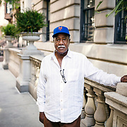 June 26, 2019 - New York, NY : Cleon Jones, who spent most of his career with the New York Mets and played a pivotal role in their 1969 World Series win against the Baltimore Orioles, poses for a portrait on the Upper East Side in Manhattan on Wednesday afternoon, June 26. CREDIT: Karsten Moran for The New York Times