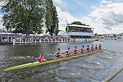 Henley, GREAT BRITAIN, 2012  Princess Elizabeth Challenge Cup, M8+, Abingdon School, race past Stewards' Enclosure, in the Semi-Final. Saturday  14:47:12  30/06/2012    [Mandatory Credit, Intersport Images]. ...Rowing Courses, Henley Reach, Henley, ENGLAND . HRR
