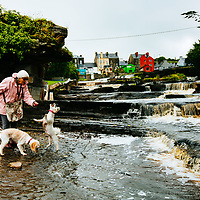 Ennistymon Cascades, Ennistimon, County Clare, Ireland