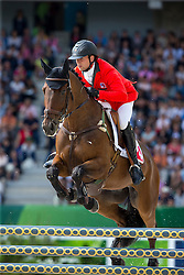 Ben Vogg, (SUI), Noe Des Vatys - Jumping Eventing - Alltech FEI World Equestrian Games™ 2014 - Normandy, France.<br /> © Hippo Foto Team - Leanjo De Koster<br /> 31-08-14