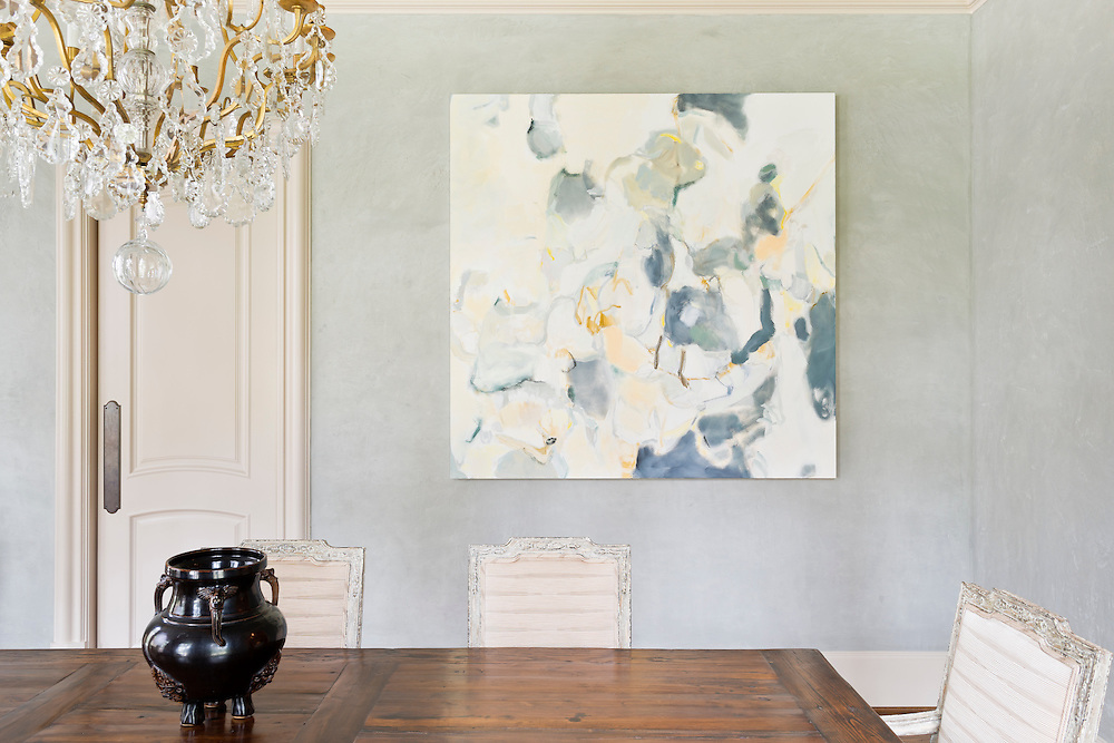 Documenting the successful application of fine art within the home is a core goal of this client. Images must show how an art piece interacts with and enhances the home environment.