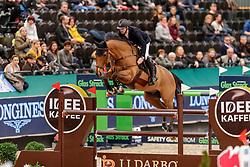 DEVOS Pieter (BEL), Espoir<br /> Leipzig - Partner Pferd 2020<br /> IDEE Kaffee-Preis<br /> Springprfg. nach Fehlern und Zeit, int.<br /> 17. Januar 2020<br /> © www.sportfotos-lafrentz.de/Stefan Lafrentz