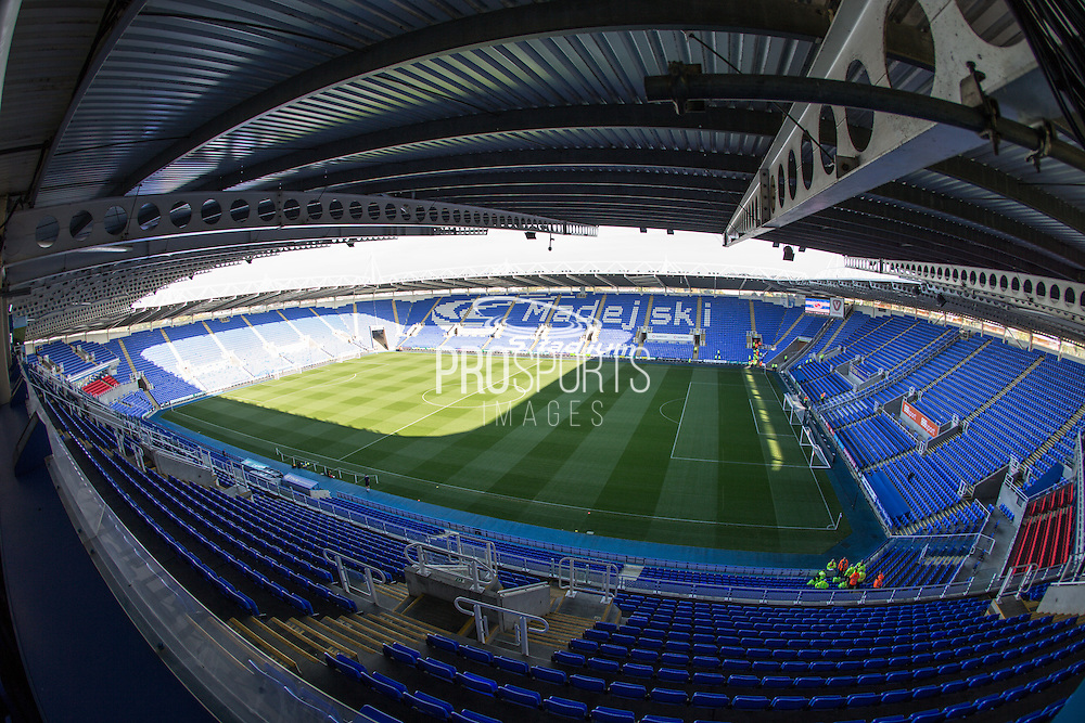 The stadium bowl, The Madejski Stadium the Sky Bet Championship match between Reading and Brighton and Hove Albion at the Madejski Stadium, Reading, England on 31 October 2015.