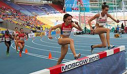 10-08-2013 ATLETIEK:  IAAF WORLD CHAMPIONSHIPS: MOSKOU<br /> KATARZYNA KOWALSKA <br /> ***NETHERLANDS ONLY***<br /> ©2012-FotoHoogendoorn.nl