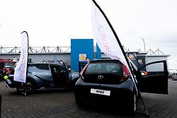 Lexus and Toyota Display in the Piazza - Mandatory by-line: Ryan Hiscott/JMP - 07/03/2020 - RUGBY - Sandy Park - Exeter, England - Exeter Chiefs v Bath Rugby - Gallagher Premiership Rugby