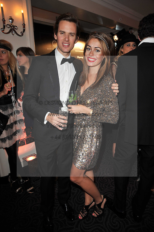 RAOUL & CAT FRASER at Quintessentially's 10th birthday party held at The Savoy Hotel, London on 13th December 2010.