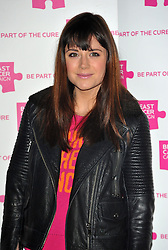 Lilah Parsons attends the launch party for Breast Cancer Campaign at Tower 42, London, England, October 1, 2012. Photo by Chris Joseph / i-Images.