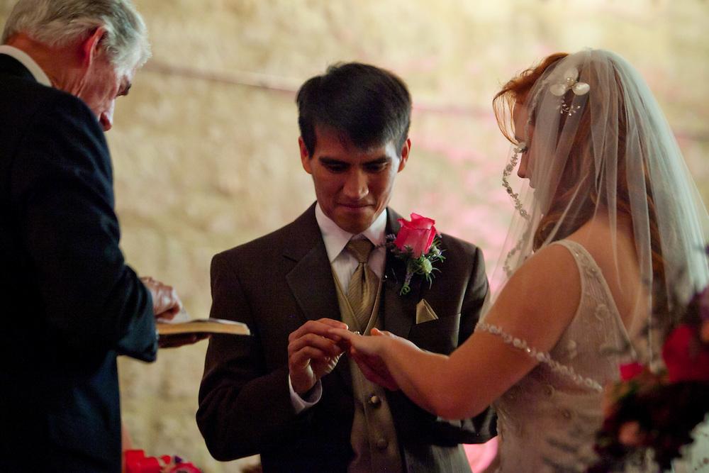 Wedding in San Antonio, Texas on Friday, March 18, 2011. (Photo by Alicia Wagner Calzada)