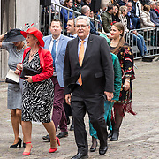 NLD/Den Haag/20190917 - Prinsjesdag 2019, Henk Krol samen met Léonie Sazias