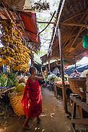 Market in Bagan, Myanmar (Burma).