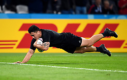 Codie Taylor of New Zealand scores a second half try - Mandatory byline: Patrick Khachfe/JMP - 07966 386802 - 24/09/2015 - RUGBY UNION - The Stadium, Queen Elizabeth Olympic Park - London, England - New Zealand v Namibia - Rugby World Cup 2015 Pool C.