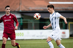 Rok Sirk of NS Mura and Zan Kumer of NK Triglav Kranj during football match between NŠ Mura and NK Triglav in 19th Round of Prva liga Telekom Slovenije 2018/19, on December 9, 2018 in Fazanerija, Murska Sobota, Slovenia. Photo by Blaž Weindorfer / Sportida
