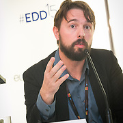 03 June 2015 - Belgium - Brussels - European Development Days - EDD - Growth - Responsible management of supply chains-The case of the garment sector - Ben Vanpeperstraete , Supply Chain Coordinator, UNI Global Union © European Union