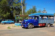 Truck in San Antonio de los Banos, Artemisa Province, Cuba.