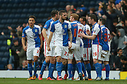 Blackburn Rovers  celebrate Blackburn Rovers midfielder Ben Marshall goal during the The FA Cup match between Blackburn Rovers and West Ham United at Ewood Park, Blackburn, England on 21 February 2016. Photo by Simon Davies.