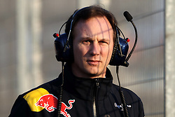 12.02.2011, Street Circuit. Jerez, ESP, Formel 1 Test 2 Valencia 2011,  im Bild Christian Horner (GBR), Red Bull Racing, Sporting Director . EXPA Pictures © 2011, PhotoCredit: EXPA/ nph/   poleposition.at  //    **** only for AUT  & SLO ****