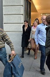 Charlotte Casiraghi shopping in the Golden Mile, Madrid, Spain, October 22, 2012. Photo by Carlos Montenegro / Sevenpixnews / i-Images...SPAIN OUT.UK ONLY