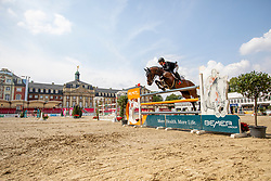 BRINKMANN Markus (GER), PIKEUR DYLON<br /> Münster - Turnier der Sieger 2019<br /> Preis des EINRICHTUNGSHAUS OSTERMANN, WITTEN<br /> CSI4* - Int. Jumping competition  (1.45 m) - <br /> 1. Qualifikation Mittlere Tour<br /> Medium Tour<br /> 02. August 2019<br /> © www.sportfotos-lafrentz.de/Stefan Lafrentz