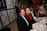 STEPHEN WEBSTER; SASHA VOLKOVA, Evgeny Lebedev and Graydon Carter hosted the Raisa Gorbachev charity Foundation Gala, Stud House, Hampton Court, London. 22 September 2011. <br /> <br />  , -DO NOT ARCHIVE-© Copyright Photograph by Dafydd Jones. 248 Clapham Rd. London SW9 0PZ. Tel 0207 820 0771. www.dafjones.com.