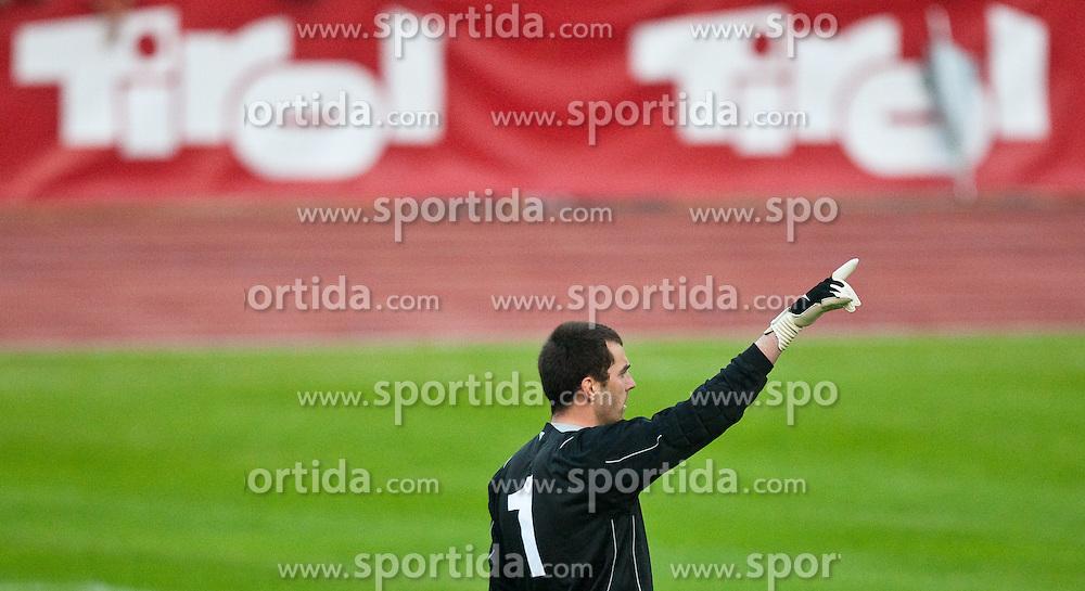 25.05.2010, Dolomitenstadion, Lienz, AUT, FIFA Worldcup Vorbereitung, Kamerun vs Georgien im Bild Tirol Werbung die Nummer 1, EXPA Pictures © 2010, PhotoCredit: EXPA/ J. Feichter / SPORTIDA PHOTO AGENCY