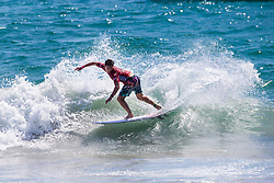 Griffin Colapinto (USA) advances to Round 3 of the 2018 VANS US Open of Surfing after placing second in Heat 8 of Round 2 at Huntington Beach, California, USA.