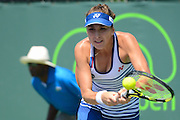25.03.2015; Miami; Tennis  - Key Biscayne 2015; Belinda Bencic (SUI) (Christopher Levy/Zuma Sports Wire/freshfocus)