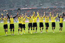 19.11.2011, Allianz Arena, Muenchen, GER, 1.FBL, FC Bayern Muenchen vs Borussia Dortmund, im Bild die borussia veiert den Sieg // during the match FC Bayern Muenchen vs  Borussia Dortmund, on 2011/11/19, Allianz Arena, Munich, Germany. EXPA Pictures © 2011, PhotoCredit: EXPA/ nph/ Straubmeier..***** ATTENTION - OUT OF GER, CRO *****