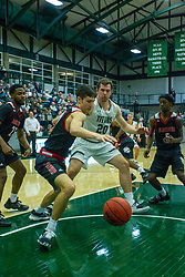 BLOOMINGTON, IL - November 12:  during a college basketball game between the IWU Titans  and the Blackburn Beavers on November 12 2019 at Shirk Center in Bloomington, IL. (Photo by Alan Look)