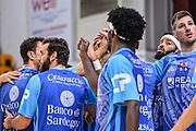 """Team Banco di Sardegna Dinamo Sassari<br /> Banco di Sardegna Dinamo Sassari - Umana Reyer Venezia<br /> Torneo """"Città di Sassari - Mimì Anselmi"""" Finale<br /> Sassari, 29/09/2018<br /> Foto L.Canu / Ciamillo-Castoria"""