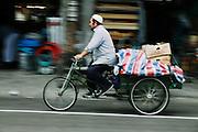 Bike Rider, Old Shanghai, China
