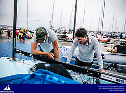 From 9 to 16 September 2018, the Tokyo 2020 Olympic Sailing Competition venue in Enoshima, Japan, will host sailors for the first event of the 2019 World Cup Series. More than 450 sailors from 45 nations will race in the 10 Olympic events.  &copy;JESUS RENEDO/SAILING ENERGY/ WORLD SAILING<br /> 16 September, 2018.