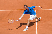 Paris, France. May 24th 2009. .Roland Garros - Tennis French Open. 1st Round..Russian player Marat Safin against Alexandre Sidorenko