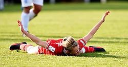 Millie Farrow of Bristol City Women celebrates - Mandatory by-line: Paul Knight/JMP - Mobile: 07966 386802 - 14/02/2016 -  FOOTBALL - Stoke Gifford Stadium - Bristol, England -  Bristol Academy Women v QPR Ladies - FA Cup third round
