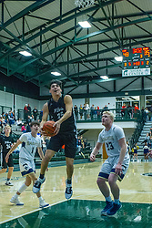 29 November 2019: Boys Basketball Normal Community West Wildcats v Central Catholic Saints at Shirk Center in Bloomington IL (Photo by Alan Look)