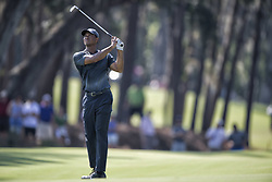 May 11, 2018 - Ponte Vedra Beach, FL, USA - The Players Championship 2018 at TPC Sawgrass..Tiger Woods on 15 fairway. (Credit Image: © Bill Frakes via ZUMA Wire)