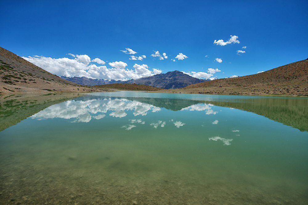 Dhankar Lake of Spiti Valley
