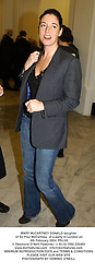 MARY McCARTNEY DONALD daughter of Sir Paul McCartney,  at a party in London on 4th February 2004.PRJ 83