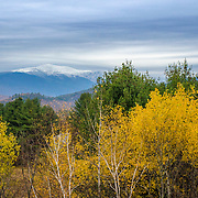 Mount Washington in late fall from Intervale, NH