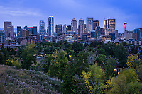 Calgary Skyline from Hillcrest Avenue SW, Morning