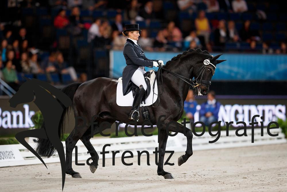Burger, Katrin (GER) Salazar<br /> Stuttgart - German Masters 2016<br /> © www.sportfotos-lafrentz.de