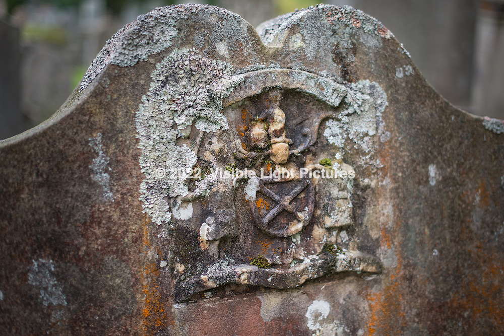 Headstone in an old Luss cemetary