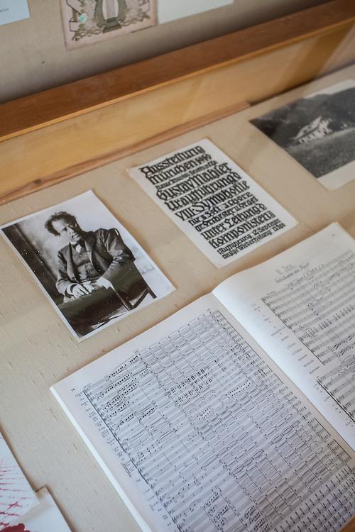 Gustav Mahler Komponierhäuschen (1893 bis 1896) -  Hotel Föttinger (http://www.hotel-attersee.at), Steinbach am Attersee