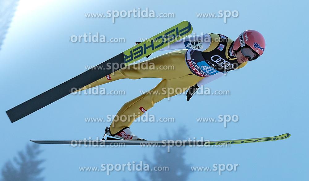 06.01.2018, Paul Außerleitner Schanze, Bischofshofen, AUT, FIS Weltcup Ski Sprung, Vierschanzentournee, Bischofshofen, Finale, im Bild Manuel Poppinger (AUT) // Manuel Poppinger of Austria during his Competition Jump for the Four Hills Tournament of FIS Ski Jumping World Cup at the Paul Außerleitner Schanze in Bischofshofen, Austria on 2018/01/06. EXPA Pictures © 2018, PhotoCredit: EXPA/ Stefanie Oberhauser