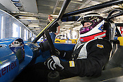 Racing driver and solicitor, Sarah Franklin.<br /> Sarah is currently the only woman driver in the Uk Ginetta series.