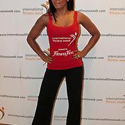 NLD/Amsterdam/20100126 - Ex Spice Girl Mel B. opent de Fitnessweek 2010