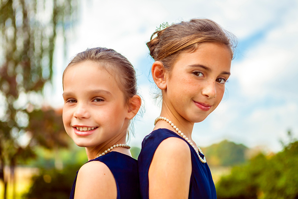 These young ladies were photographed during a wedding in Atlanta's Piedmont Park.
