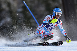 06.01.2014, Stelvio, Bormio, ITA, FIS Weltcup Ski Alpin, Bormio, Slalom, Herren, im Bild Steve Missillier // Steve Missillier  in action during mens Slalom of the Bormio FIS Ski World Cup at the Stelvio in Bormio, Italy on 2014/01/06. EXPA Pictures © 2014, PhotoCredit: EXPA/ Sammy Minkoff<br /> <br /> *****ATTENTION - OUT of GER*****